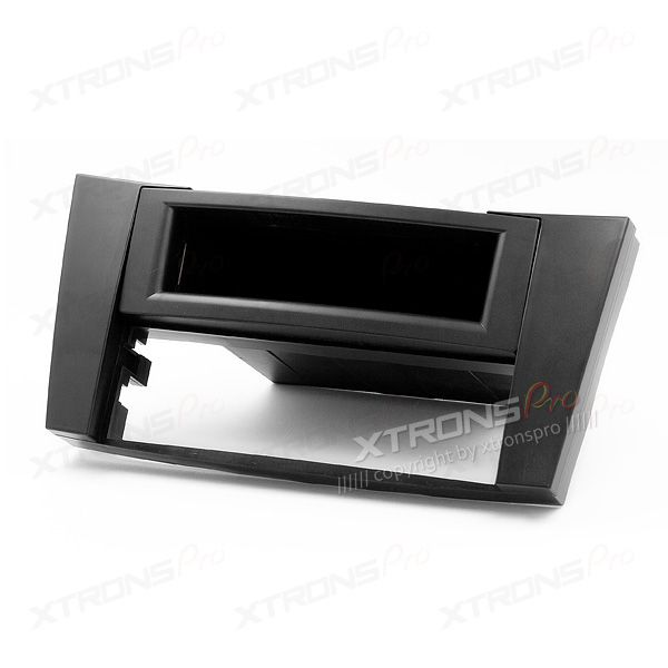 MERCEDES-BENZ E-klasse Single Din Car Stereo Fascia Panel Plate with Pocket for Aftermarket Stereo