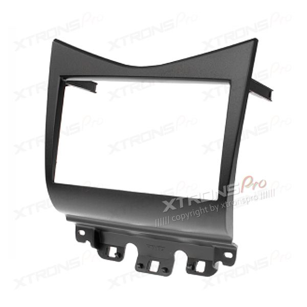 Black Double Din Stereo Fascia Fitting Kit for HONDA Accord