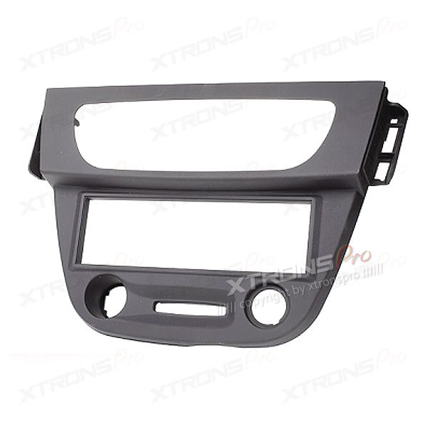 Black Car CD Stereo Single Din Fascia Fitting Kit Car Fascia Adapter for RENAULT Megane III Fluence