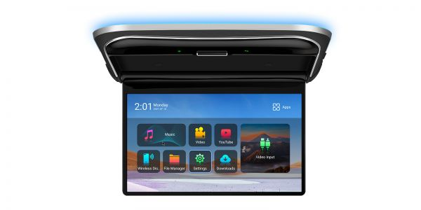12,5 Zoll | Octa-Core | 2GB RAM & 16GB ROM | IPS-Bildschirm | Dachmontierter Android-Player | CM125A
