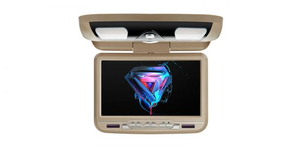 Auto-Deckenmonitor mit DVD-Player | 9 Zoll | DVD-Player | CR9033Cream
