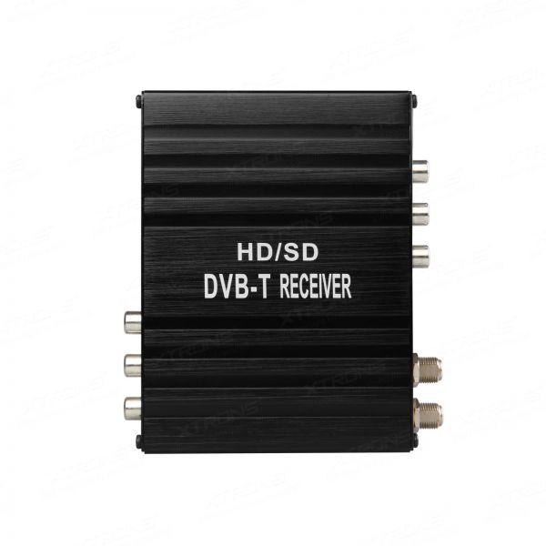 XTRONS FV006 Dual Antenna Car DVB-T Freeview Digital TV Receiver Box