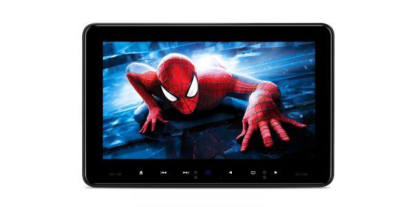 2 Stück | 9 Zoll | Regionsunabhängig | Slot-in-Design | Kopfstützen-DVD-Player im Auto | HDMI-Eingang | HD91UND