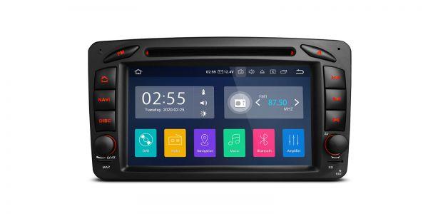 Mercedes-Benz | Verschiedene | Android 10 | Quad-Core | 2GB RAM & 16GB ROM | PA70M203