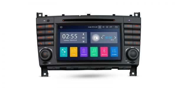 Mercedes-Benz | Verschiedene | Android 10 | Quad-Core | 2GB RAM & 16GB ROM | PA70M209