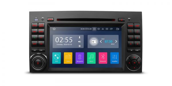 Mercedes-Benz | Verschiedene | Android 10 | Quad-Core | 2GB RAM & 16GB ROM | PA70M245