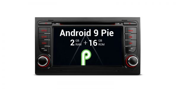 AUDI / Seat | Verschiedene | Android 9.0 | Quad-Core | 2GB RAM & 16GB ROM | PA79AA4IP