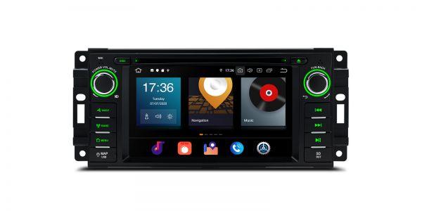 Jeep / Dodge / Chrysler | Verschiedene | Android 10 | Octa-Core | 4GB RAM & 64GB ROM | PBX60WRJ