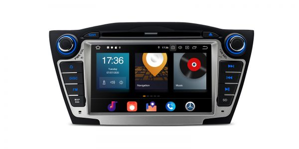 Hyundai | IX35 / Tucson | Android 10 | Octa-Core | 4GB RAM & 64GB ROM | PBX7035H