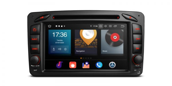 Mercedes-Benz | Verschiedene | Android 10 | Octa-Core | 4GB RAM & 64GB ROM | PBX70M203