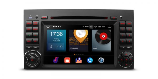 Mercedes-Benz | Verschiedene | Android 10 | Octa-Core | 4GB RAM & 64GB ROM | PBX70M245