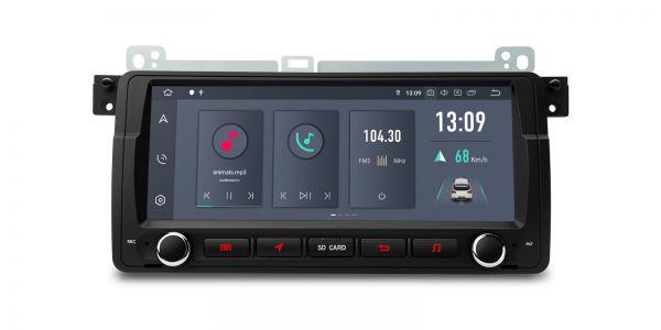 BMW / Rover / MG ZT | Android 10 | Hexa-Core | 4GB RAM & 64GB ROM | HDMI-Ausgang | PQS8046BL