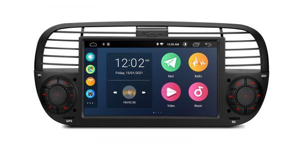 Fiat | 500 | Android 10 | Quad Core | 2GB RAM & 32GB ROM | PSA7050FL_B