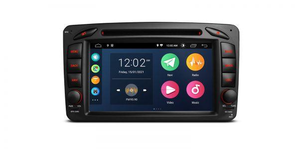 Mercedes| Verschiedene | Android 10 | Quad Core | 2GB RAM & 32GB ROM | PSA70M203