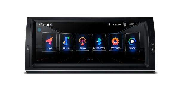 BMW | X5 | Integrierter DSP | Android 10 | 2GB RAM & 16GB ROM | PSD1053BL