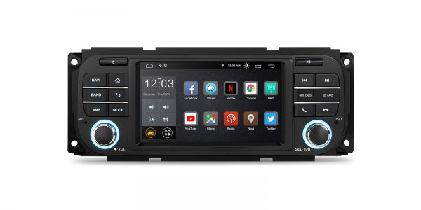 Jeep / Dodge / Chrysler | Verschiedene | Android 10 | Quad-Core | 2GB RAM & 16GB ROM | PSD50WRJL