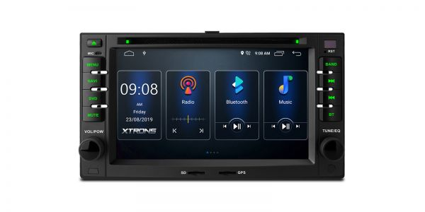 Kia | Verschiedene | Integrierter DSP |Android 10 | 2GB RAM & 16GB ROM | PSD60UNK