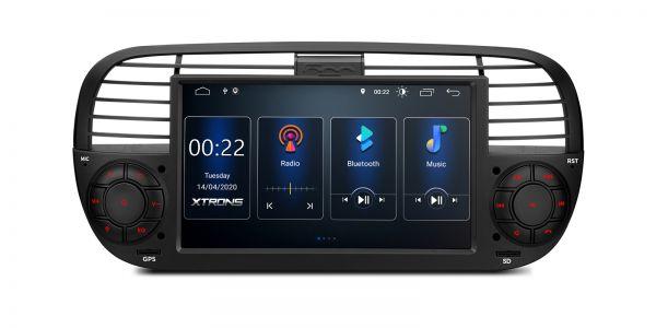 Fiat | 500 | Android 10 | Quad-Core | 2GB RAM &16GB ROM | PSD7050FL_B