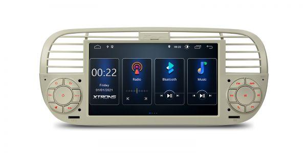Fiat | 500 | Eingebaut DSP |Android 10 | 2GB RAM & 16GB ROM | PSD7050FL_C