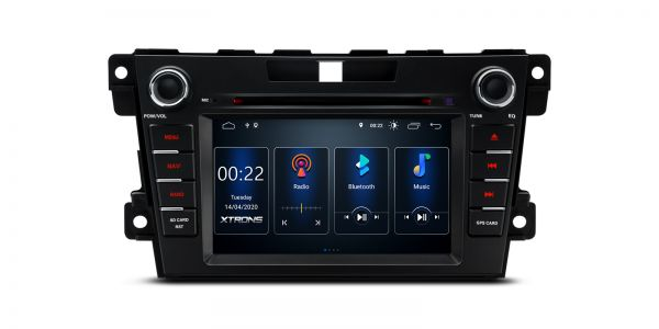 Mazda | CX-7 | Integrierter DSP | Android 10 | 2GB RAM & 16GB ROM | PSD70CX7M
