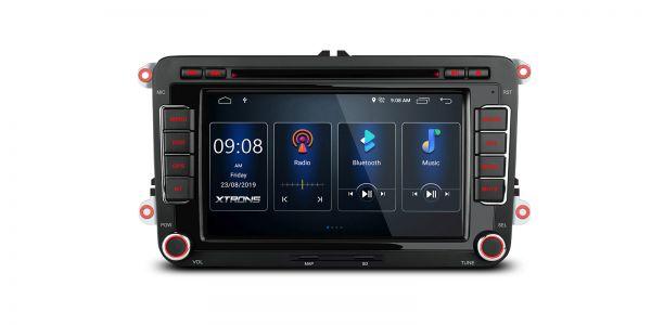 VW / SEAT / SKODA | Verschiedene | Integrierter DSP |Android 10 | 2GB RAM & 16GB ROM | PSD70MTV