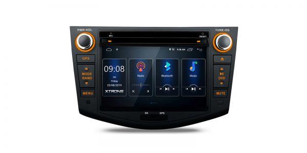 Toyota | RAV4 | Integrierter DSP |Android 10 | 2GB RAM & 16GB ROM | PSD70RVT