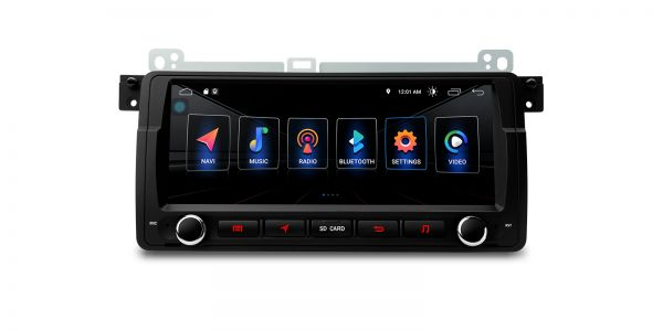 BMW / Rover / MG | Verschiedene | Integrierter DSP |Android 10 | 2GB RAM & 16GB ROM | PSD8046BL