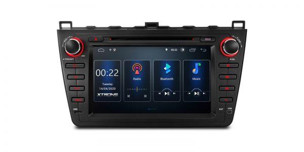 Mazda 6 | Integrierter DSP | Vollständiger Cinch-Ausgang | Android 10 | 2GB RAM & 16GB ROM | PSD80M6M