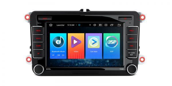 Volkswagen / Seat / Skoda | Verschiedene | Android 10 | Quad-Core | 2GB RAM & 32GB ROM | PSF70MTVL