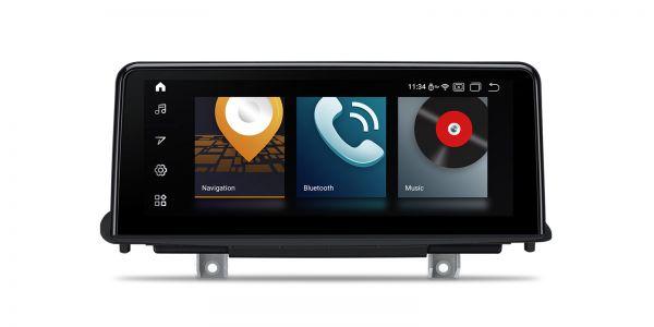 BMW   Android 10   Qualcomm   Octa-Core   4GB RAM & 64GB ROM   Voll laminierter Bildschirm   QB10X5NB