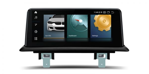 BMW | Android 10 | Qualcomm Quad-Core | 2GB RAM & 32GB ROM | Voll laminierter Bildschirm | QCB1087UN_L