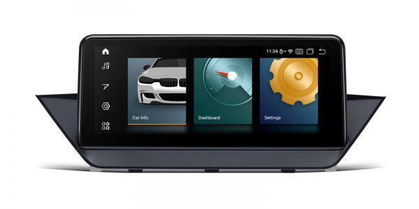 BMW | Android 10 | Qualcomm Quad-Core | 2GB RAM & 32GB ROM | Voll laminierter Bildschirm | QCB10X1CI