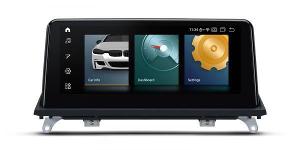 BMW | Android 10 | Qualcomm Quad-Core | 2GB RAM & 32GB ROM | Voll laminierter Bildschirm | QCB10X5CC