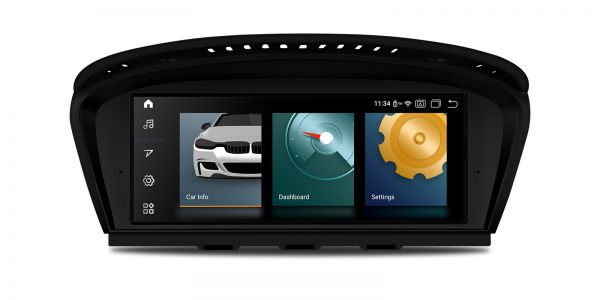 BMW | Android 10 | Qualcomm Quad-Core | 2GB RAM & 32GB ROM | Voll laminierter Bildschirm | QCB8060CC