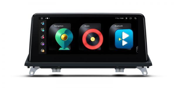 BMW |X5 | Android 10 | Octa Core | 4GB RAM & 128GB ROM | Integrierte 4G-Lösung | QFB10X5CC
