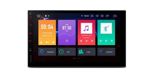 Doppel-DIN | Android 10 | Octa-Core | 2GB RAM & 32GB ROM | TBE701L