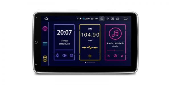 Doppel-DIN | Android 10 | Octa-Core | 4GB RAM & 64GB ROM | Rotierbare Bildschirm | TIB110L