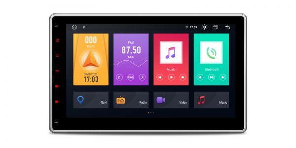 Doppel-DIN | Android 10 | Octa-Core | DDR4 Speicher | 2GB RAM & 32GB ROM | TME100L
