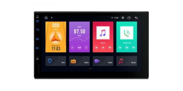 Doppel-DIN | Android 10 | Octa-Core | DDR4 Speicher | 2GB RAM & 32GB ROM | TME701L