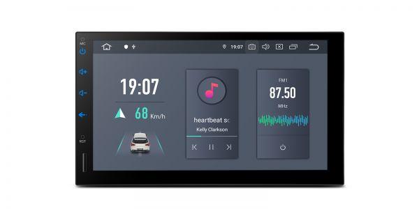 Universal | Doppel-DIN| Android 10 | Hexa Core | 4GB RAM & 64GB ROM | HDMI-Ausgang | TQS700L