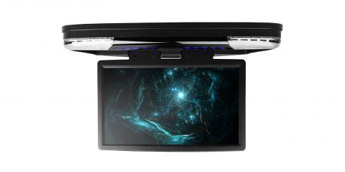 15,6 Zoll | Overhead-DVD-Player für das Auto| CR1506VSBlack