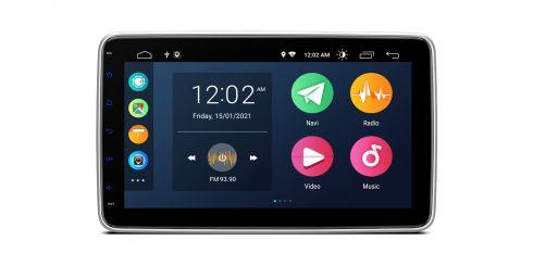 Universal | Single-Din | Android 10 | Quad Core | 2GB RAM & 32GB ROM | DSA110L