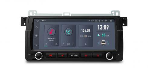 BMW / Rover / MG ZT   Android 10   Hexa-Core   4GB RAM & 64GB ROM   HDMI-Ausgang   PQS8046BL