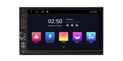 Universal | Doppel-Din | Android 10 | Quad-Core |1GB RAM & 16GB ROM | TC702L