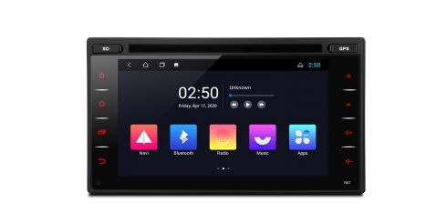 Double Din | Nissan | Android 10 | Quad-Core |1GB RAM & 16GB ROM | TCD601