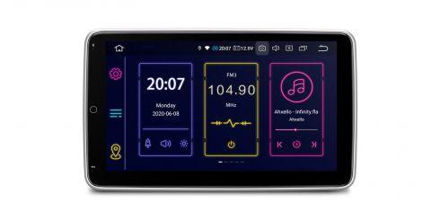 Doppel-DIN   Android 10   Octa-Core   4GB RAM & 64GB ROM   Rotierbare Bildschirm   TIB110L