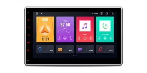 Doppel-DIN   Android 10   Octa-Core   DDR4 Speicher   2GB RAM & 32GB ROM   TME100L