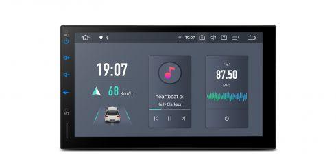 Universal   Doppel-DIN  Android 10   Hexa Core   4GB RAM & 64GB ROM   HDMI-Ausgang   TQS700L